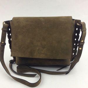 ISABEL MARANT Asli Whipstitched Shoulder Bag